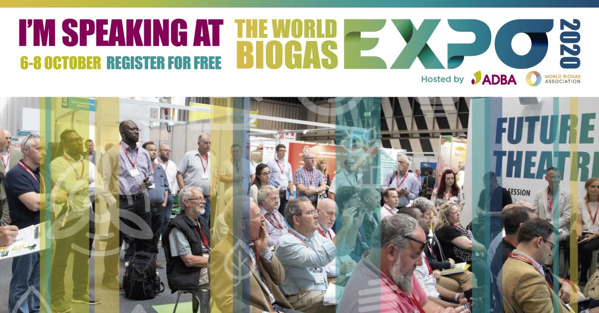 world biogas expo banner